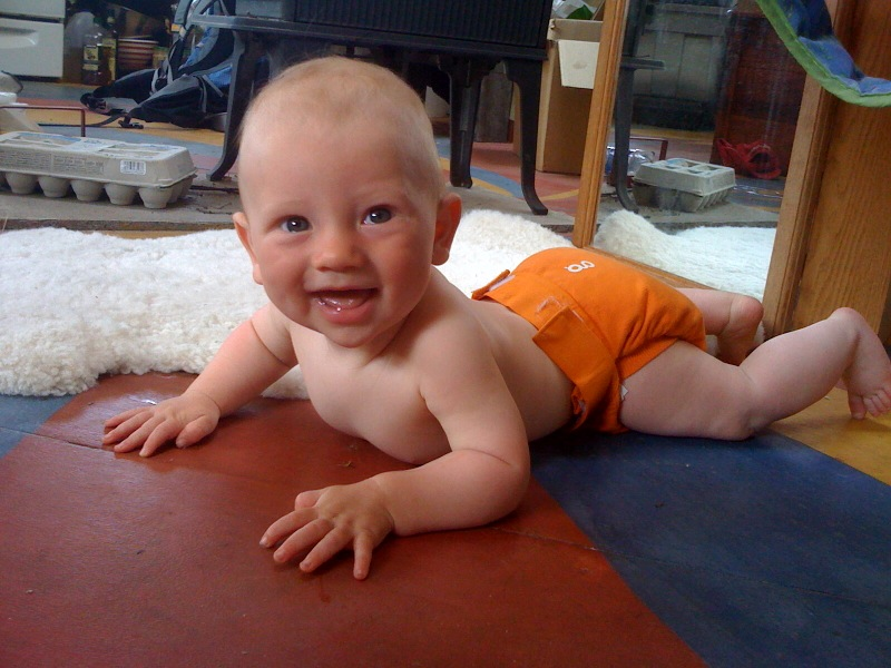 I wish I could crawl!